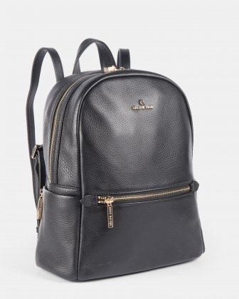 ADAGIO - LEATHER BACKPACK - BLACK Céline Dion
