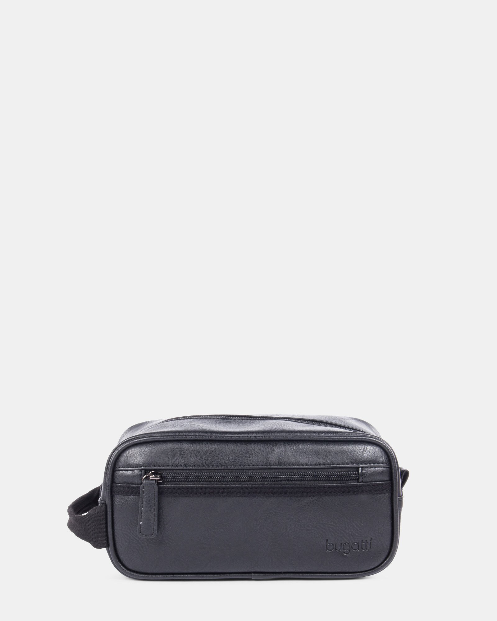 VALENTINO - Toiletry bag with handle and Inside wet pocket - black - Bugatti - Zoom