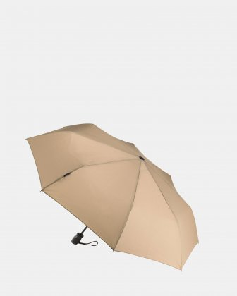 TURISMO - Umbrella with Automatic one-touch open & close mechanism - Camel Bugatti