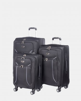 Three piece luggage set Bugatti