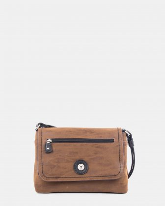 JOURNEY-Flap bag Mouflon