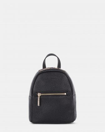ADAGIO - LEATHER MINI BACKPACK - BLACK Céline Dion
