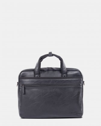 Valentino briefcase in vegan leather  Bugatti