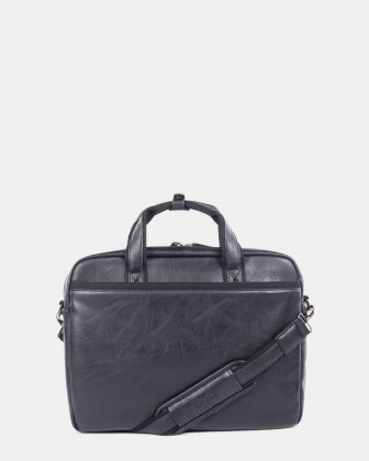 Valentino briefcase in vegan leather  - Bugatti