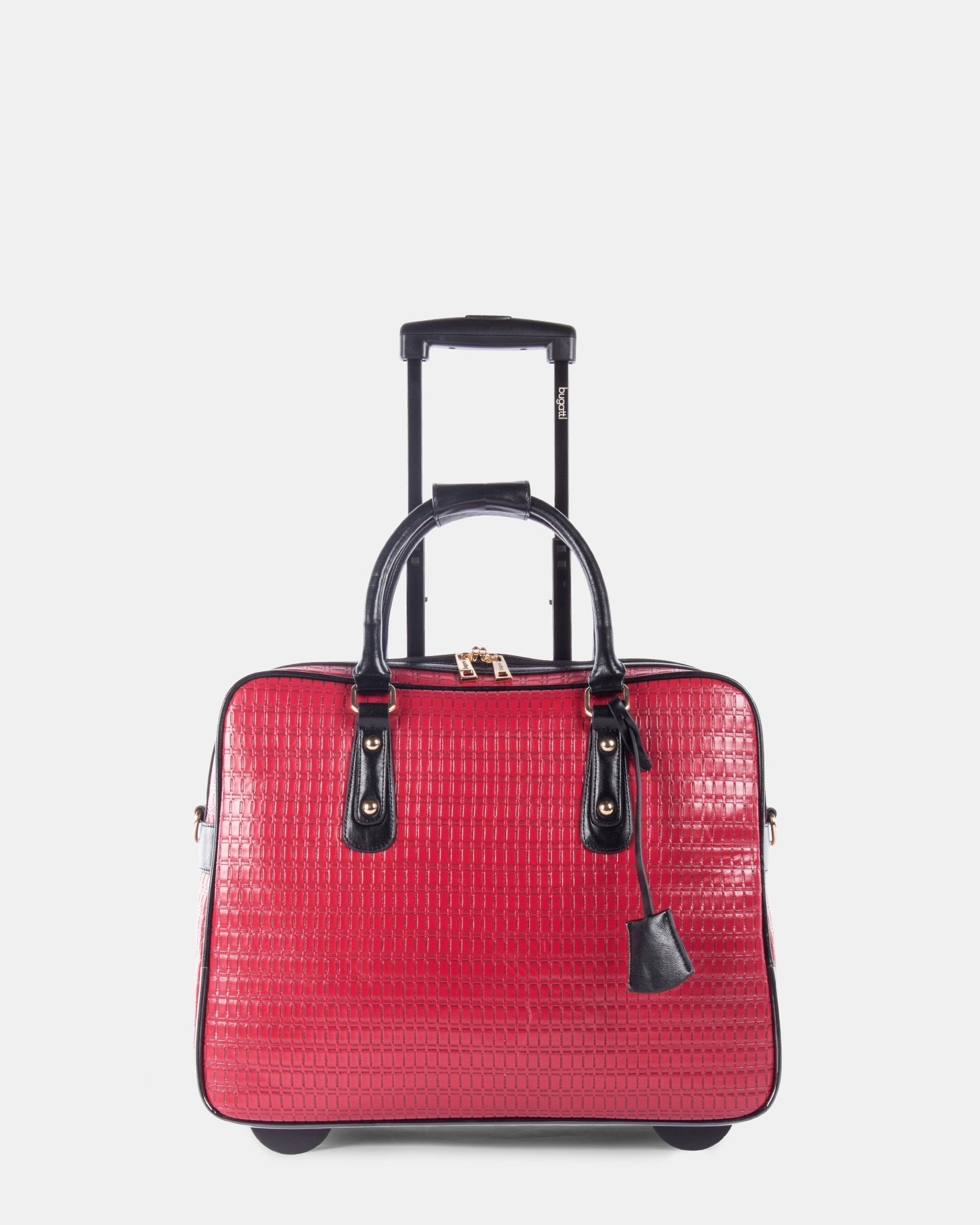 7ba2d7382e8 Bugatti ladies bag on wheels red main zoom jpg 1600x2000 Ladies bags