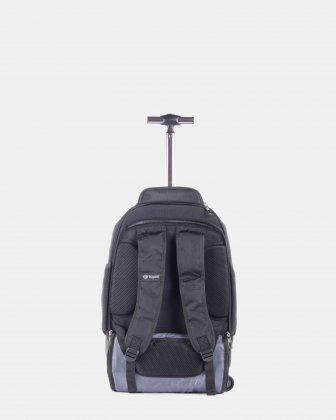 Bugatti - Matt backpack on wheels 2707150e68a95