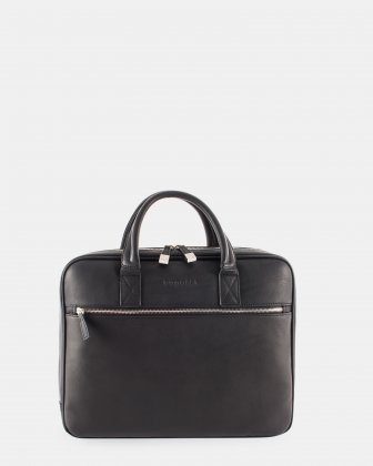 Bugatti Sartoria II  leather briefcase