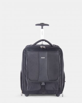 "Gregory – Backpack on Wheels for 15.6"" laptop with RFID protection - Black Bugatti"