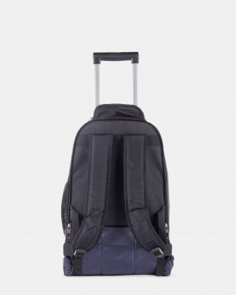 "Gregory – Backpack on Wheels for 15.6"" laptop with Multi-use organizer pockets - Black Bugatti"