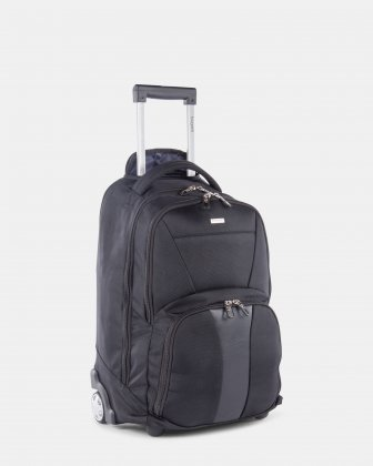 "Gregory – Backpack on Wheels for 15.6"" laptop with Multi-use organizer pockets - Black - Bugatti"
