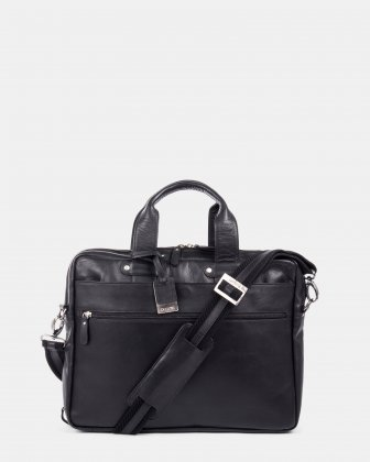 Perreira – Leather Briefcase – Double Compartment Bugatti