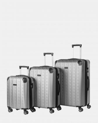 3-Piece Hardside Luggage Set Bugatti