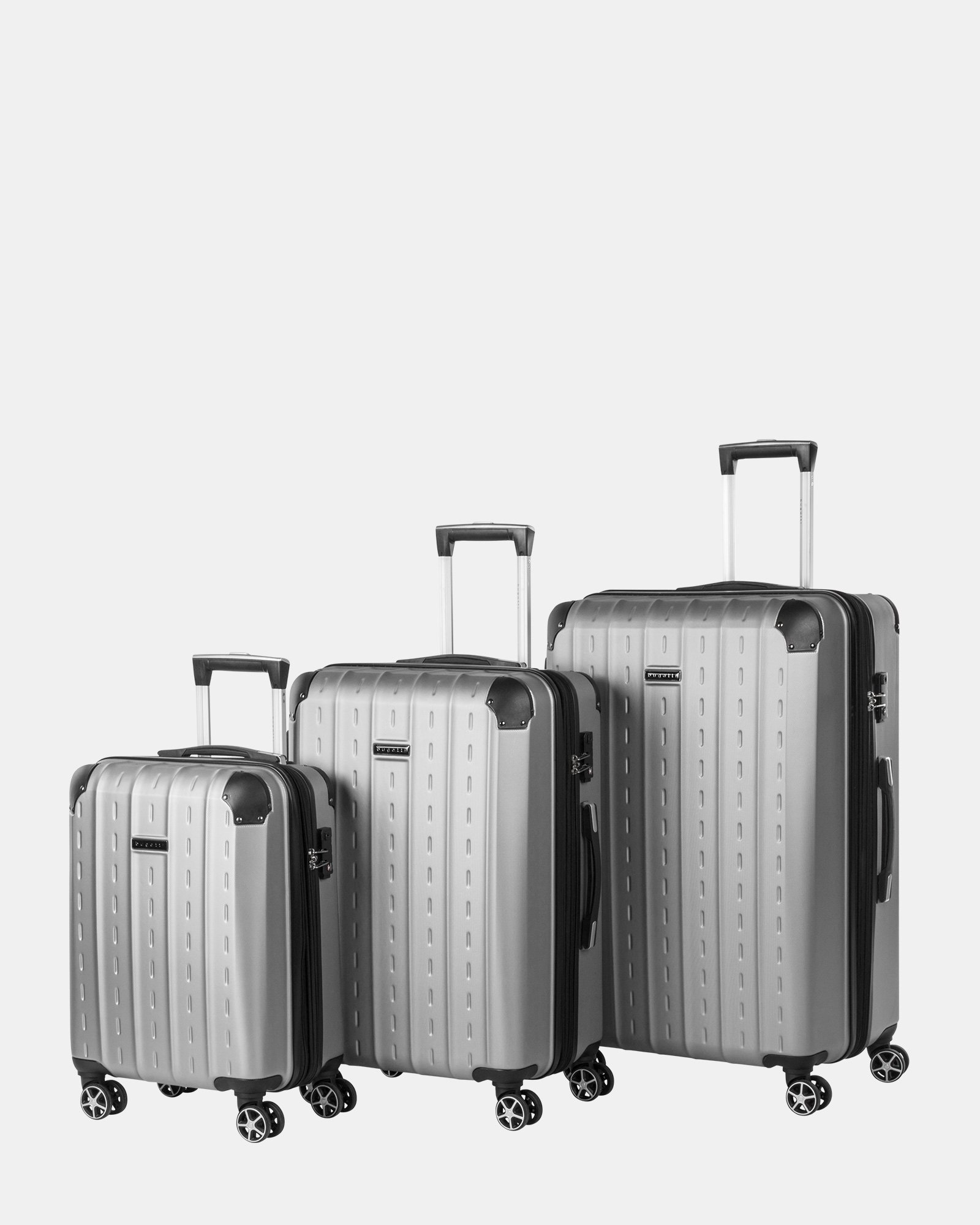 really cheap official perfect quality 3-Piece Hardside Luggage Set