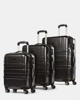 3 Piece Hardside Luggage Set Bugatti