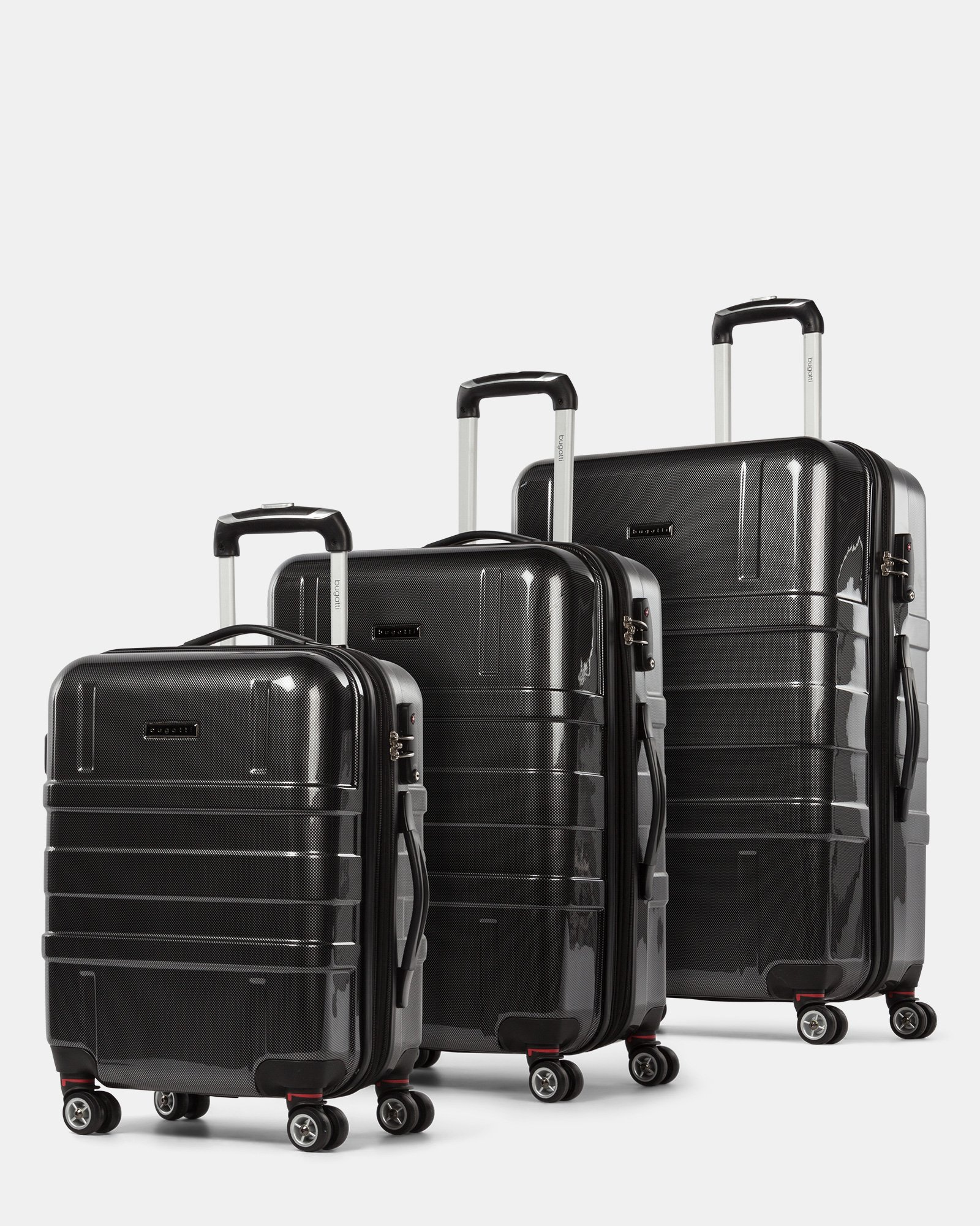 aea15a1f3038 3 Piece Hardside Luggage Set