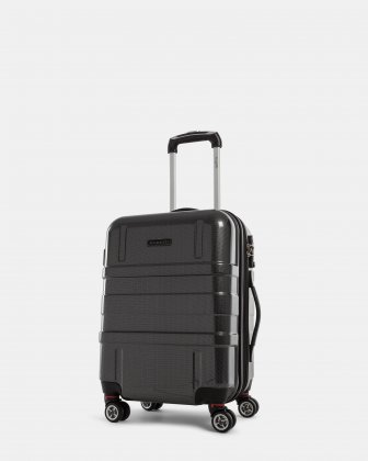 Budapest - Lightweight Hard Carry-On with tsa lock - Black Bugatti