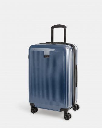 SINGAPORE - Abs & polycarbonate Hardside Luggage 24'' with TSA lock - SteelBlue Bugatti