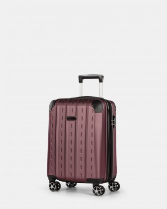 New York - Lightweight Hardside Carry-on with TSA lock - Red Bugatti