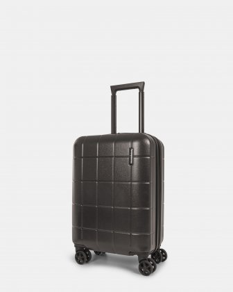 Toronto - Lightweight Hardside Carry-on with Zipper-release expansion system - Charcoal Bugatti