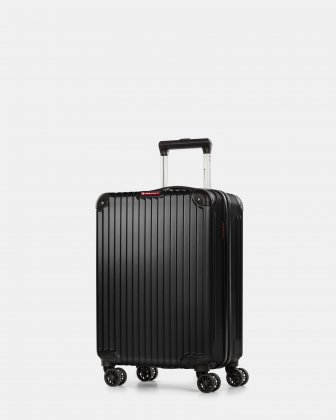 Ember - Lightweight Hardside Carry-on with double spinner wheels (8 wheels) - Black Swiss Mobility