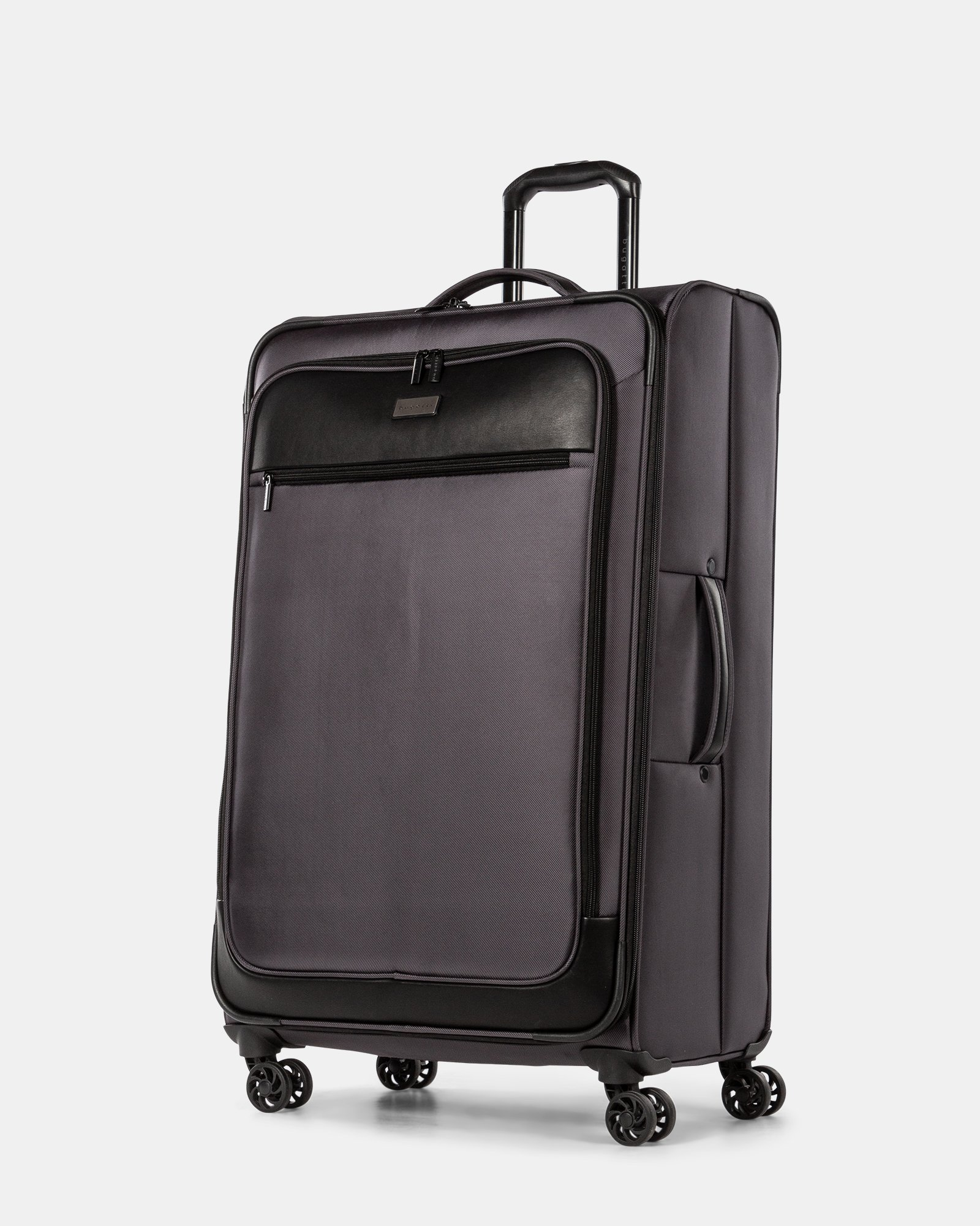 Boston - Lightweight Softside 28'' Luggage with Zipper-release expansion system - Charcoal - Bugatti - Zoom