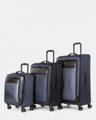 3-Piece Softside Luggage Set Bugatti