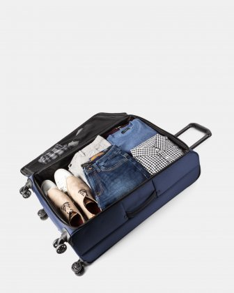 Boston - Lightweight Softside 28'' Luggage with Zipper-release expansion system - Bugatti