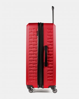 Ridge - Lightweight Hardside Luggage 28'' with Spinner wheels - Red Swiss Mobility