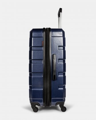 Quad - Lightweight Hardside Luggage 28'' with Spinner wheels - Blue - Swiss Mobility
