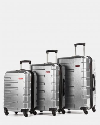Quad – Ensemble de 3 valises rigides Swiss Mobility