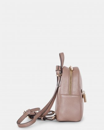 ADAGIO - LEATHER MINI BACKPACK - ROSEGOLD Céline Dion