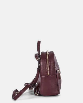ADAGIO - LEATHER MINI BACKPACK - WINTER WINE Céline Dion