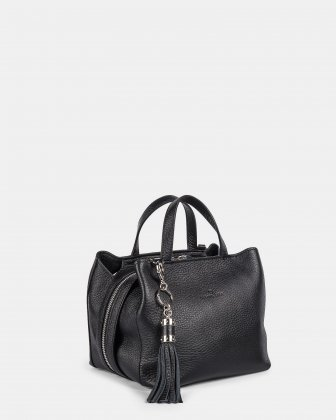 MEZZO - Satchel with removable crossbody strap - black Céline Dion