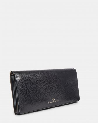 CAVATINA - 2 in 1 Wallet & Crossbody with interior back wall zipper - Black - Céline Dion