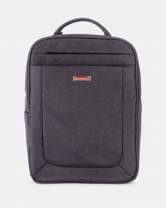 CADENCE - Backpack for 15.6 in laptop and Integrated USB port - Charcoal Swiss Mobility
