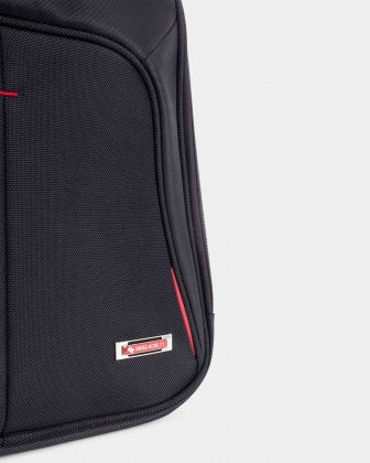"Purpose - 15.6"" COMPUTER BACKPACK WITH USB PORT - BLACK - Swiss Mobility"