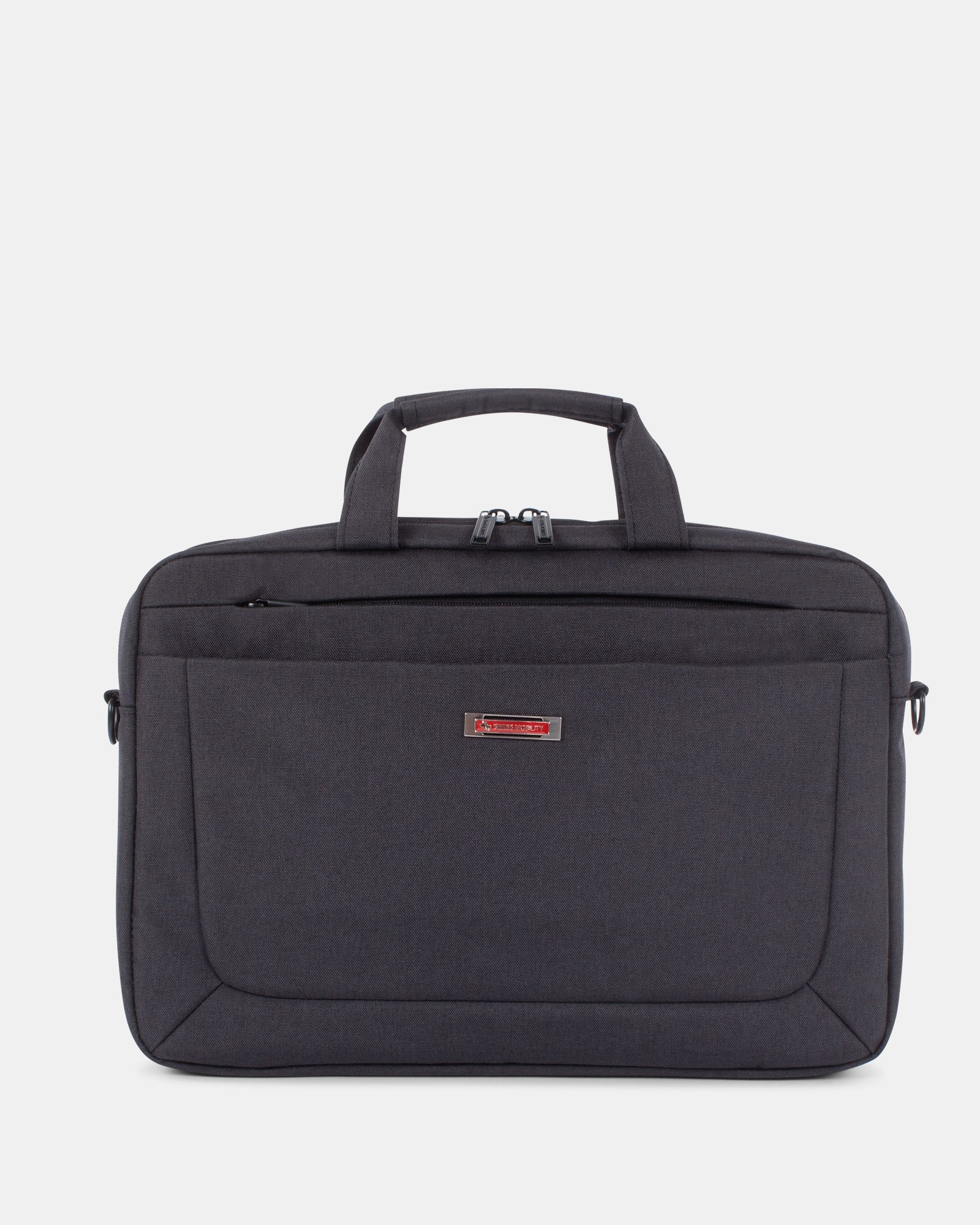 Cadence – Soft Briefcase – Double Compartment - Swiss Mobility - Zoom