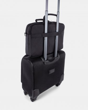 Cadence – Soft Briefcase – Double Compartment Swiss Mobility