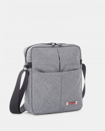Sterling - Crossbody Bag for tablet with Adjustable shoulder strap - Grey Swiss Mobility