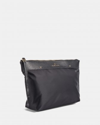 PRESTO - Toiletry case zipper closure - Black Céline Dion