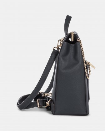 GRAZIOSO - BACKPACK with multiple pockets - Grey/snake Céline Dion