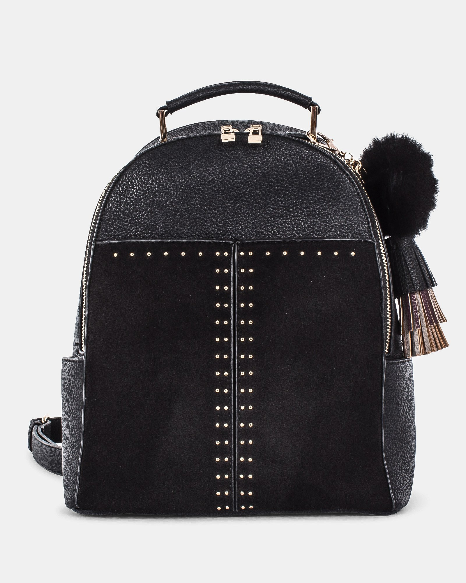 HARMONY - practical and spacious BACKPACK with multiple interior pockets - Black - Céline Dion - Zoom