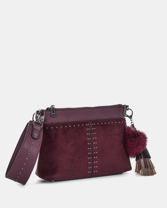 HARMONY - CLUTCH converted to a small shoulder bag - winterwine Céline Dion