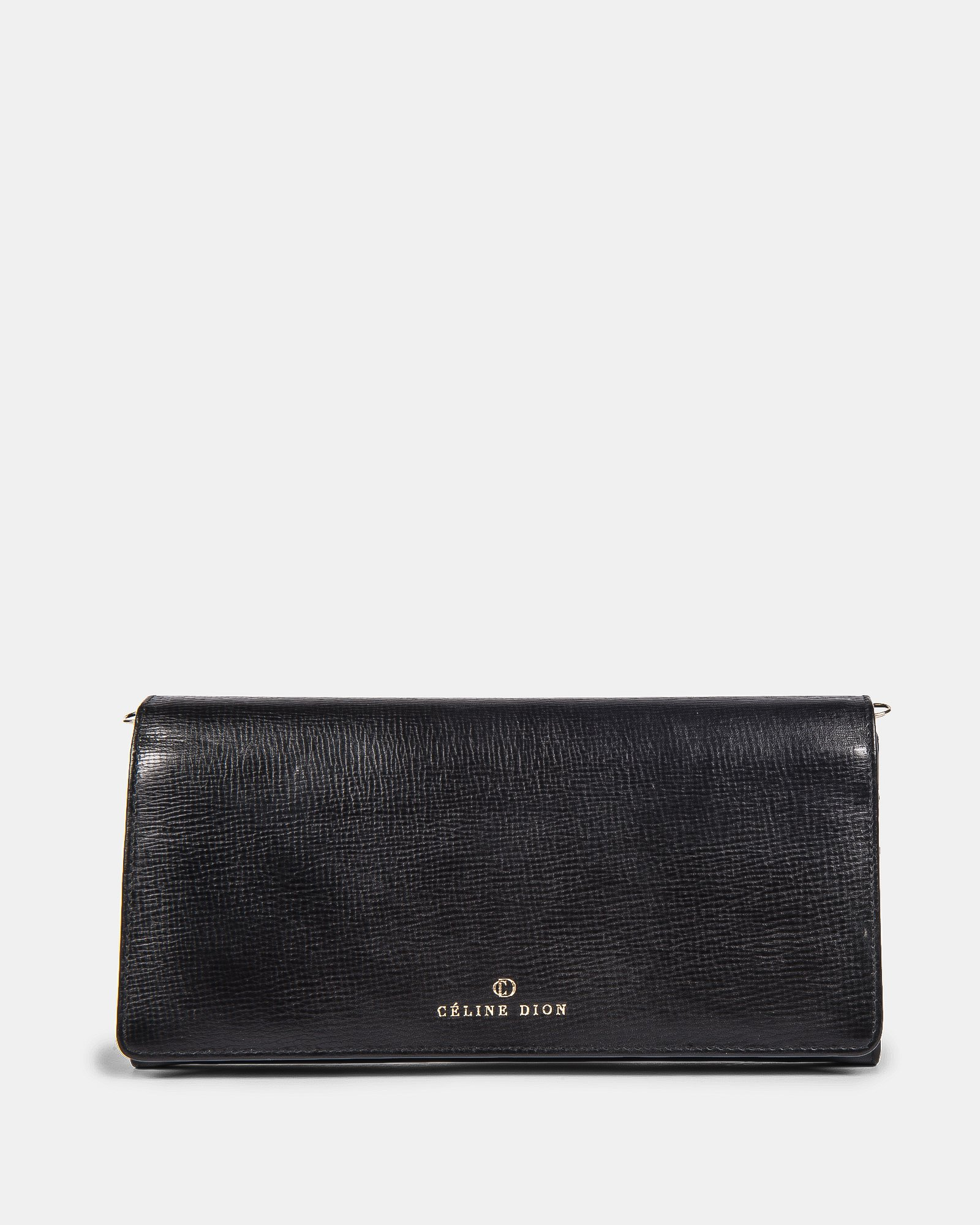 CAVATINA - 2 in 1 Wallet & Crossbody with interior back wall zipper - Black - Céline Dion - Zoom
