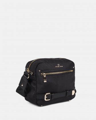 PRESTO - Crossbody zipper closure - Black Céline Dion