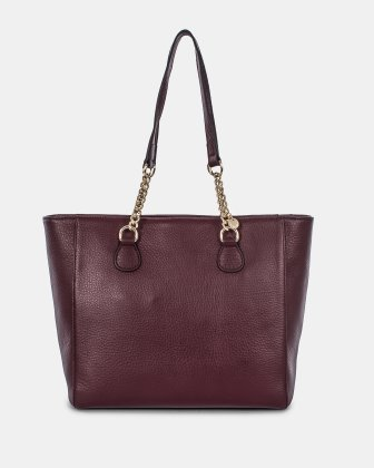 Céline Dion ADAGIO - LEATHER TOE BAG - WINTERWINE
