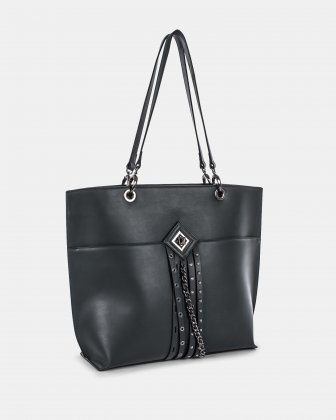 LEGATO - Leather-like TOTE BAG - GREEN Céline Dion