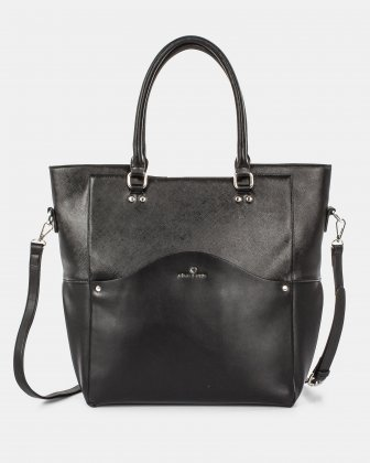MOTIF - Tote Bag with removable and ajustable strap - black Céline Dion