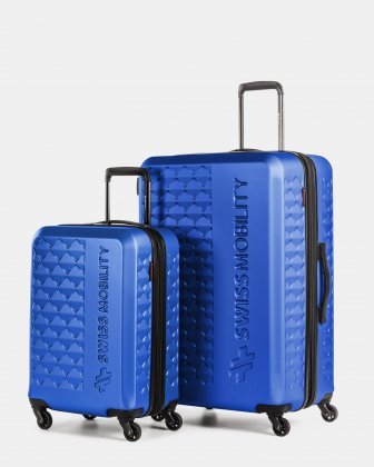 Ridge – 2-Piece Hardside Luggage Set Swiss Mobility