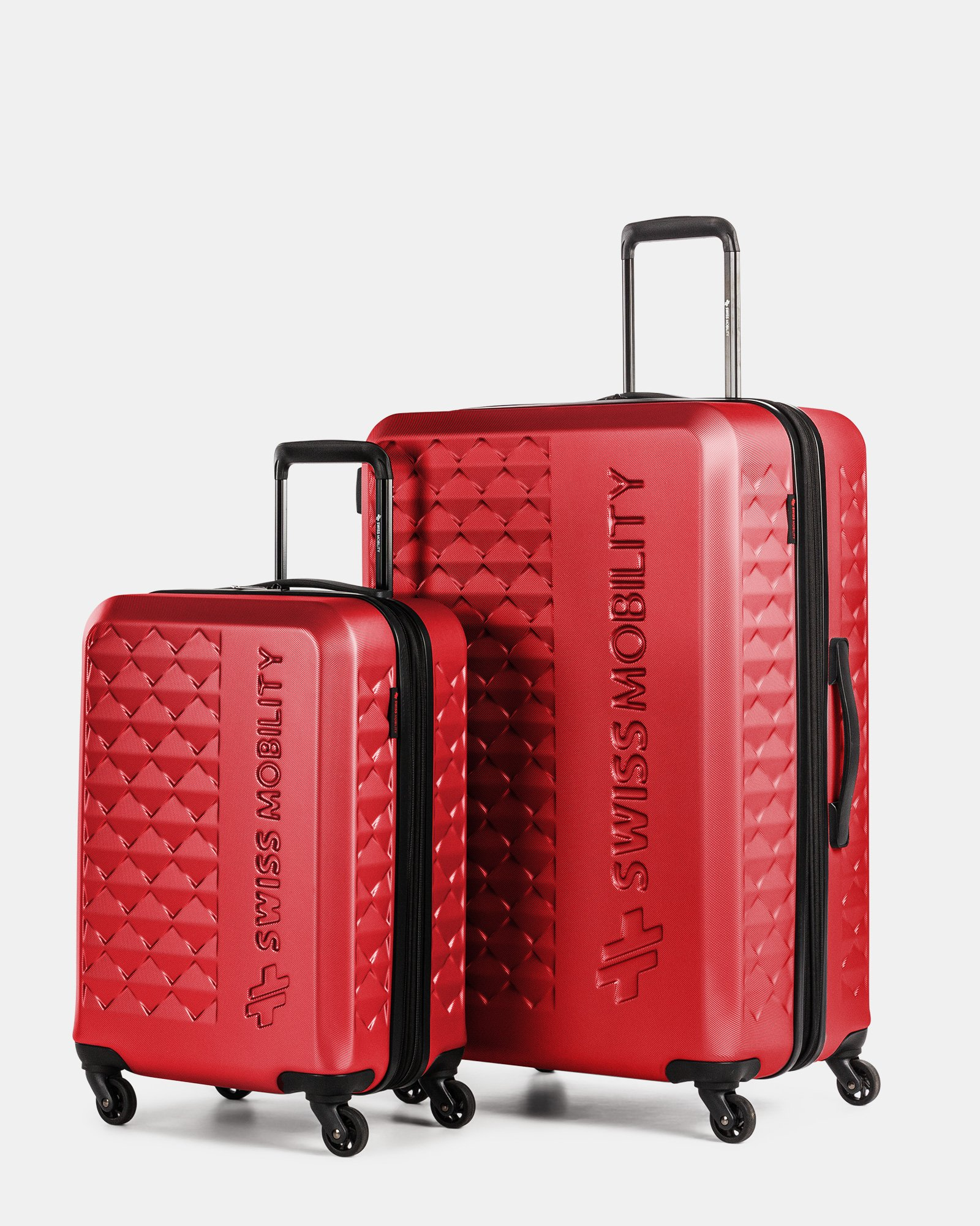 Ridge – 2-Piece Hardside Luggage Set - Swiss Mobility - Zoom